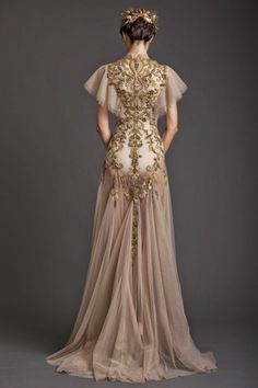 Preciosos Vestidos de Novia por Krikor Jabotian - Primavera Verano - Vestidos Mania