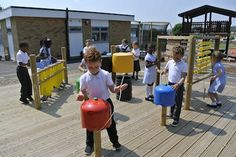 Whilst this is currently a work in progress, the outdoor music area had Outdoor Activities For Kids, Outdoor Learning, Outdoor Play, Interior Design Visual Presentation, Music Furniture, Homemade Musical Instruments, Sensory Garden, Music Station, Yard Games