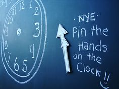 Pin the hands on the clock