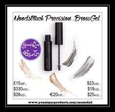 Moodstruck Precision Brow Gel Browed and proud.