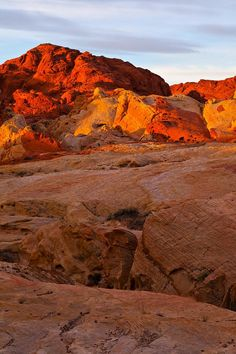 ✮ Sunrise - Fire Canyon - Valley Of Fire State...