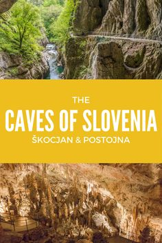 Exploring the caves of Slovenia: Škocjan and Postojna. These two caves are a must-visit when in Slovenia and their amazing formations will amaze you. And, as a bonus, the spectacular and unique Predjama Castle!