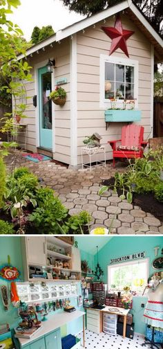 More At SHE SHED IDEAS : FOSTERGINGER @ Pinterest