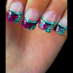 These my beach nails Love Nails, How To Do Nails, Fun Nails, Pretty Nails, Toe Nail Designs, Nail Polish Designs, Square Gel Nails, Finger Nail Art, Prom 2014