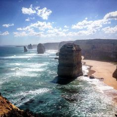 Great Ocean Road  #Australia #victoria #melbourne #12apostles #greatoceanroad #sun #fun #car #ridin #beautiful #scenery #astonishing #ocean #sea #blue #loveit #goodtimes thanks for everything @sandman.21 by mitchard7 http://ift.tt/1ijk11S