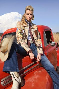 Double D Range Rider Jacket Vintage Western Wear, Western Girl, Double D Ranch, Riders Jacket, Trucks And Girls, Southwest Style, Field Jacket, Western Outfits, Fall Outfits