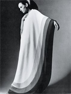 This garment is a caftan. The caftan is a traditional African garment that was being incorporated into 70's fashion everywhere. The long pieces was one of the most conservative pieces during a time period when showing skin was popular.
