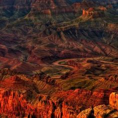 Grand Canyon Sunset Spires (by JamesWatkins) Living in Arizona now for 36 years, we tend to take anybody that comes to visit to the Grand Canyon Grand Canyon Sunset, Grand Canyon National Park, National Parks, Beautiful World, Beautiful Places, Beautiful Pictures, Amazing Places, Inspiring Pictures, Beautiful Scenery