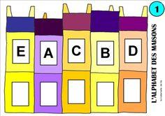 un nouveau jeu : l'alphabet des maisons - la maternelle de lila