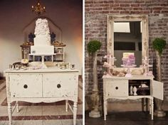 Vintage Wedding Furniture