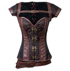 Style Steampunk, Steampunk Corset, Gothic Corset, Steampunk Clothing, Renaissance Clothing, Victorian Steampunk, Steampunk Necklace, Steampunk Fashion, Gothic Lolita