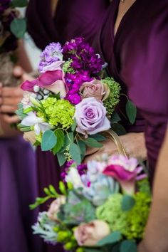 Purple Wedding Flowers Photos on WeddingWire.They look very pretty. Please check out my website Thanks.  www.photopix.co.nz