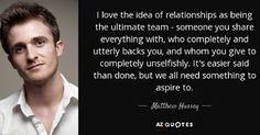 Matthew Hussey quote