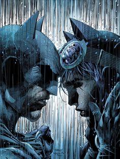 Batman & CatWoman by Jim Lee Catwoman Cosplay, Batman And Catwoman, Batman Art, Comic Kunst, Comic Art, Jim Lee Superman, Jim Lee Art, Hq Dc, Arkham Knight