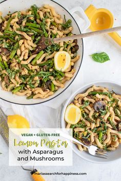 With a total of 10 ingredients and 30 minutes of start-to-finish prep and cook time, this recipe is a great example of how easy cooking can be. I love this recipe for many reasons, but mostly because it displays how to use simple, fresh ingredients to cre Vegan Noodles Recipes, Vegetarian Pasta Recipes, Yummy Pasta Recipes, Easy Salads, Delicious Vegan Recipes, Healthy Salad Recipes, Whole Food Recipes, Meal Recipes, Vegan Dinners