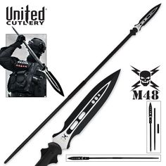 United Cutlery Super Spear with Sheath - Excellent product and best deal i could find. Fantastic service after the sale.This United Cutlery that is r Survival Knife, Survival Gear, Survival Weapons, Apocalypse Survival, Survival Equipment, Survival Skills, Tactical Knives, Tactical Gear, United Cutlery