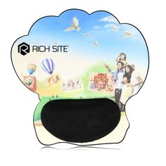 Funky Shape Silicone #WristRest #Mousepad For more info visit: http://www.papachina.com/new/funky-shape-silicone-wrist-rest-mousepad