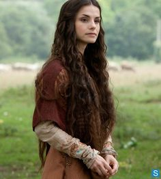 This is how I see Lyanna Stark.  Photos - .Misc/Archived/Old Shows - World Without End - Cast Promotional Photos - Charlotte Riley as Caris 02