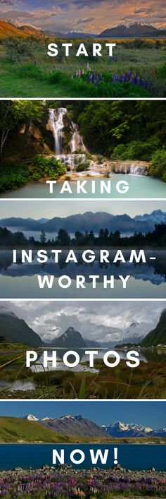 Do you want to take beautiful striking landscape photos that recreate the scene just as you saw it?! Follow these easy steps to make your landscape photos instagram-worthy! Top tips for beginner photographers.