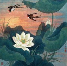 田希丰1958年生于北京。现为中国工笔画学会会员、北京美术家协会会员、北京工笔重彩画会会员、工笔花鸟画坛实力派画家。Tian Xifeng Born in Beijing in 1958. Now painter of Chinese Painting Institute, Beijing Artists Association, a member of Beijing heavy color painting, meticulous flower altar strength.