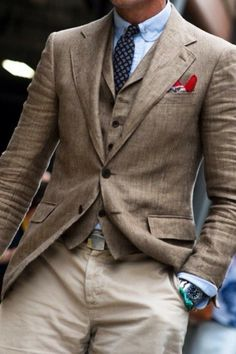 Fantastic Spring/Summer fabrics; all muted class and texture...