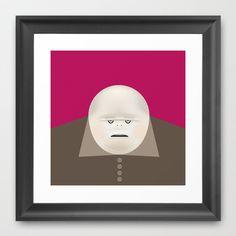 DON CICCIO Framed Art Print by Matteo Lotti