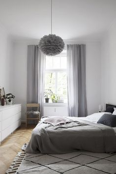 Cozy and soft bedroom look with Connox