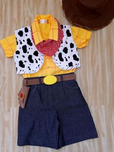 Bandana, Bermuda Jeans, Toy Story Party, Rompers, Cosplay, Bento, Jessie, Ali, Tops