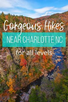 Hiking near Charlotte, NC is the great way to explore the outdoors. This guide includes the best hikes near Charlotte so you can plan your next adventure!