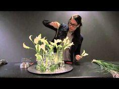 Waterparels, Ijskristallen, crystalice goedkoop-bloemschikken.nl bloemschikken creatief - YouTube
