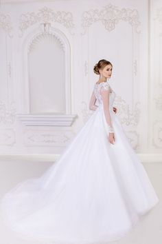 Ball Gown Tulle Wedding Dress - My Best Dress