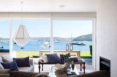 The Cape Cod Copper lanterns in a Justine Hughes Jones interior