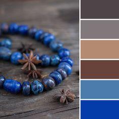 Color palette: ceramic necklace | 15 стильных палитр от Ярмарки Мастеров - Ярмарка Мастеров - ручная работа, handmade