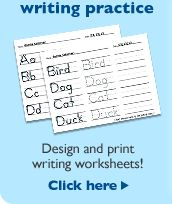Writing Practice!!! Type in your own words and save or print for student practice! Good sight word writing practice!