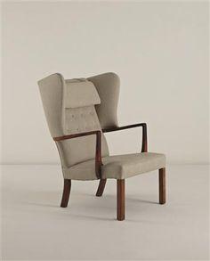 JACOB KJÆR Wing back armchair