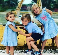 """""""Princess Madeleine of Sweden shares a lovely photo of her 3 children: Princess Adrienne yrs old) Prince Nicolas yrs) Princess Leonore yrs old)"""""""
