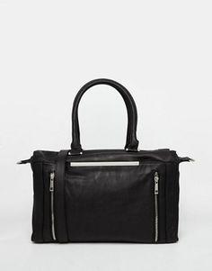 Pimkie Black Zip Detail Bag