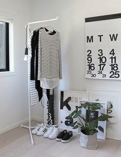 New In | Corner Rack + Plumen 002 minimalist clothing rack