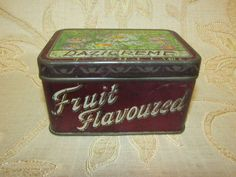 Antique Collectable Victorian Tucker's Dazicreme Tin Box   eBay