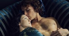 """Vulture.com: """"The Best Sex on Television Is a Scottish Time-Travel Feminist Sci-Fi Fantasy on Starz -- All hail Outlander."""" By Jennifer Vineyard.  Great article about the writers, and how they decide what to highlight in the series, feminine gaze, etc."""