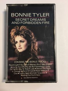 Rare Promo BONNIE TYLER secret dreams forbidden fire + 2 Bonus Tracks!  | eBay