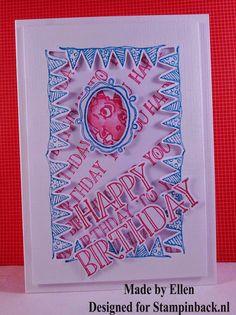 STAMPINBACK.NL  : Pink Birthday