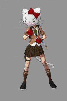 Unique Video Game Character Concept Arts