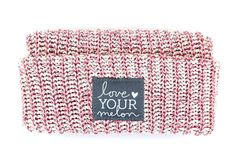 Love Your Melon Rose Speckled Cuffed Hat