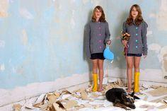 Wenn Zwillinge auf den Hund kommen (Foto von Maryatta Wegerif)       Wenn Sie... Old And New, Nature Photography, Twins, Pug, Dog
