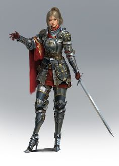 Character concept - ART by Hyunjoon_ Kim - Freelance concept artist Female Character Concept, Fantasy Character Design, Female Character Design, Character Design References, Character Design Inspiration, Character Art, Dnd Characters, Fantasy Characters, Female Characters