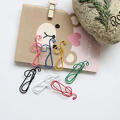 Labels, Indexes & Stamps Office & School Supplies Honesty Blel Hot Fashion Music Note Alloy Bookmark Novelty Document Book Marker Label Stationery