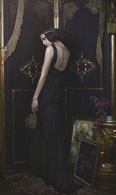 Cassie Meder - Vintage 1990s Satin Gown - Vesper Vintage Grand Opening