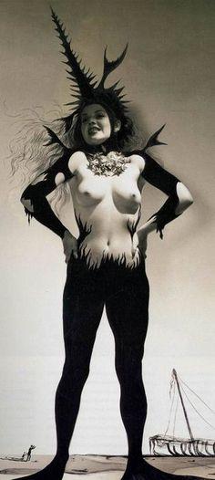 """""""Dream of Venus, 1939 by Horst P. Horst and Salvador Dalí"""