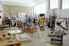 Joan Miro's Studio, via http://www.seemallorca.com/